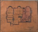 Architectural drawing of ground plan of Mill Hey