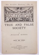 True and False Society printed pamphlet