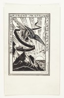 A204xii Bookplate design for Dorothea Monnington