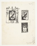 A204xviii Bookplate designs for Frank Brangwyn