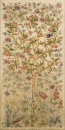 F119 The Cherry Tree embroidered panel
