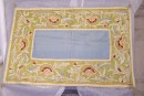 F323 embroidered table runner