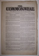 K406b The Commonweal: The Official Journal of the Socialist League, Vol. 4, No. 115, Dated March 24, 1888