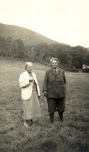 May Morris and Miss Lobb in Wales