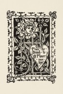 Printed bookplate