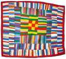 Gee's Bend quilt, 1979, Collection of Bill Volckening