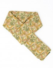 Acanthus Lined Scarf (green)