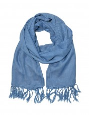 Just Trade Pure Cotton Scarf (powder blue)