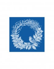Christmas Wreath Greetings Card Pack
