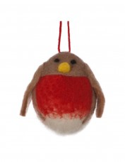 Wool Robin Decoration