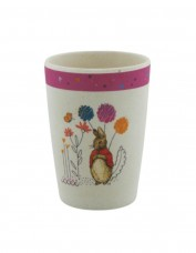 Flopsy Bunny Bamboo Cup (pink)