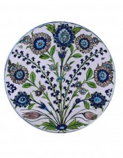 Flower Sprays Pattern Tin Plate