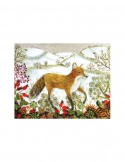 Fox in the Snow Greetings Card Pack