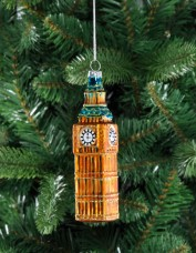 Glass Big Ben Decoration