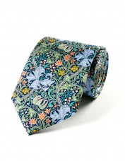 Golden Lily Tie (green)