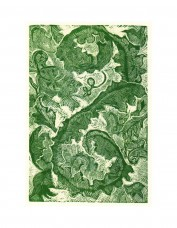 Anna Alcock - Acanthus Leaves Print
