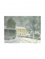 Halstead Road In Snow Greetings Card Pack