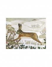 Hare, Holly and Hillside Greetings Card Pack