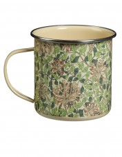 Honeysuckle metal mug