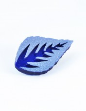 I Am Acrylic - Leaf Brooch