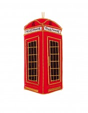 Felt London Telephone Box Decoration