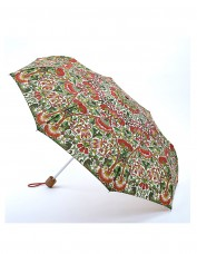loden print folding umbrella