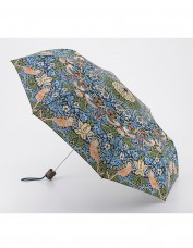 strawberry thief folding umbrella