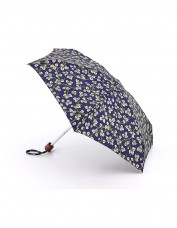 Morris & Co Merton Leaf Print Umbrella open