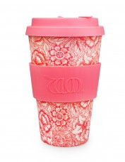 Ecoffee Reusable Cup - Poppy Print