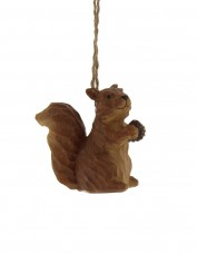 Resin Squirrel Decoration