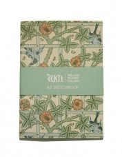 Sketchbook with Trellis pattern
