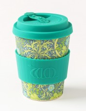 Ecoffee Small Reusable Cup - Seaweed Print