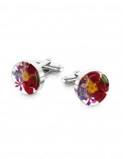 Mixed Flower Cufflinks