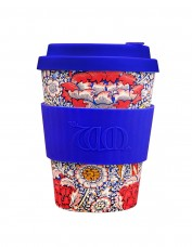 Ecoffee Small Reusable Cup - Wandle Print