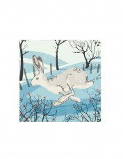 Snow Hare Set of 8 Cards