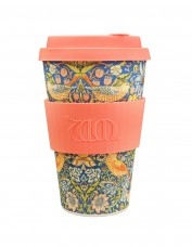 Ecoffee Reusable Cup - Strawberry Thief Print