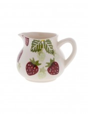 Peregrine Pottery Strawberry and Cream Milk Jug