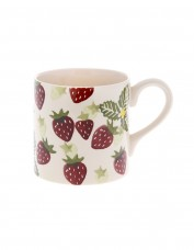 Peregrine Pottery Strawberry and Cream Mug