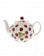 Peregrine Pottery Strawberry and Cream Teapot