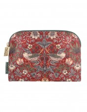 Morris & Co Strawberry Thief Cosmetics Bag (small)