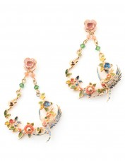 Bill Skinner Swallow Drop Earrings