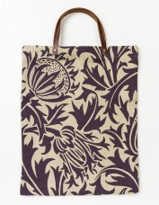 Thistle Handmade Leather Handle Tote Bag