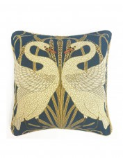 Walter Crane Swan Tapestry Cushion Cover
