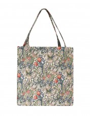 Golden Lily Tapestry Tote Bag