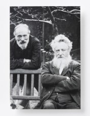 William Morris and Edward Burne-Jones Photo Postcard