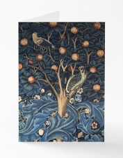 Woodpecker Tapestry Greetings Card