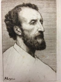head and shoulders portrait of man with beard