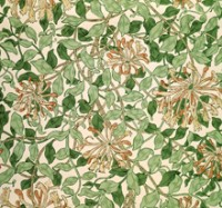 Honeysuckle wallpaper detail
