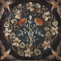 May Morris, Maids of Honour firescreen