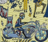 Walthamstow Tapestry (detail), 2009, Grayson Perry